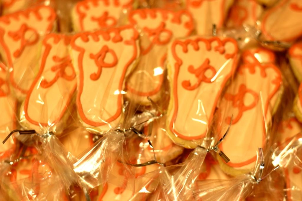 Pinterest Inspired Baby Shower Cookies