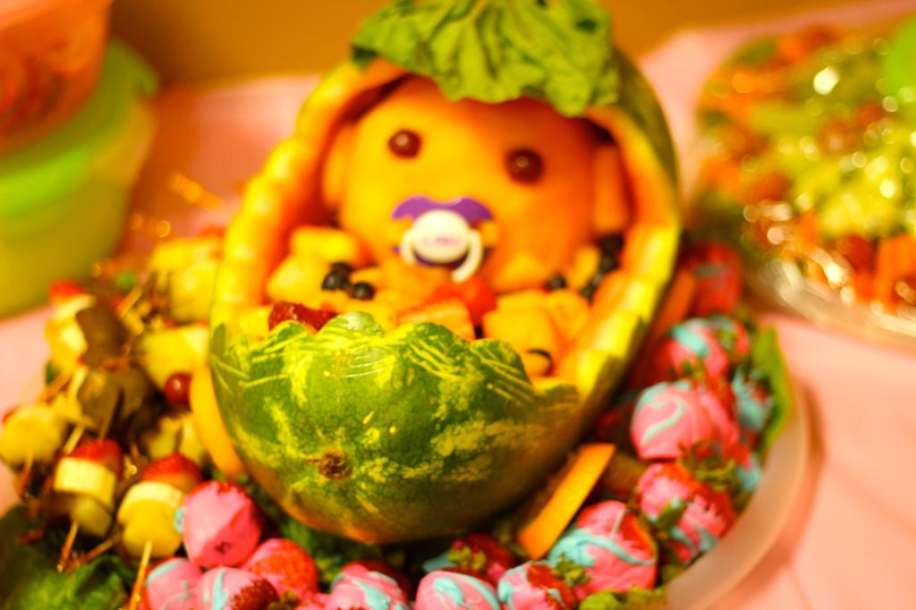 Pinterest Inspired Melon Baby