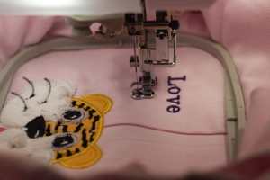 LSU Tiger Embroidery