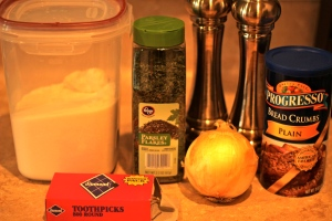 Stuffed Pork Chop Ingredients