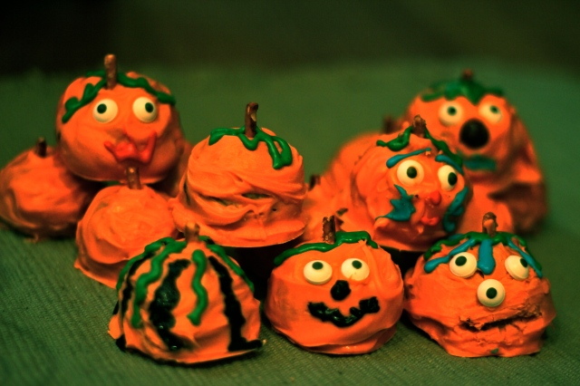 Halloween Cookie Balls